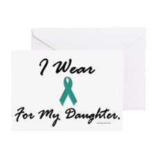 Wear Teal For My Daughter 1 Greeting Cards (Packag