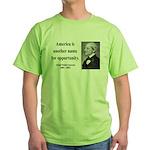 Ralph Waldo Emerson 31 Green T-Shirt