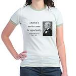 Ralph Waldo Emerson 31 Jr. Ringer T-Shirt