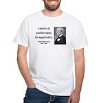 Ralph Waldo Emerson 31 White T-Shirt