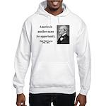 Ralph Waldo Emerson 31 Hooded Sweatshirt