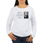 Ralph Waldo Emerson 31 Women's Long Sleeve T-Shirt