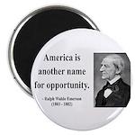 Ralph Waldo Emerson 31 Magnet