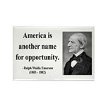 Ralph Waldo Emerson 31 Rectangle Magnet (100 pack)