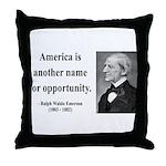 Ralph Waldo Emerson 31 Throw Pillow