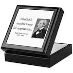 Ralph Waldo Emerson 31 Keepsake Box