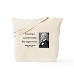 Ralph Waldo Emerson 31 Tote Bag