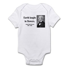 Ralph Waldo Emerson 33 Infant Bodysuit