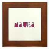 Maura Framed Tile