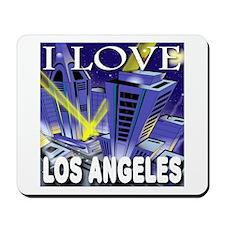 I Love Los Angeles Metropolis Mousepad
