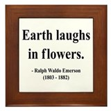 Ralph Waldo Emerson 33 Framed Tile