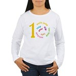 I'm a Skater - A 10! Women's Long Sleeve T-Shirt