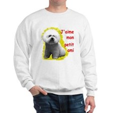 Unique I love my bichon frise Sweatshirt