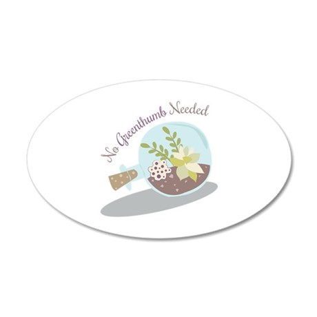 No Greenthumb Needed Wall Decal