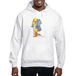 The Knight Templar kneeling Hooded Sweatshirt
