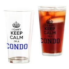 Funny Condo Drinking Glass