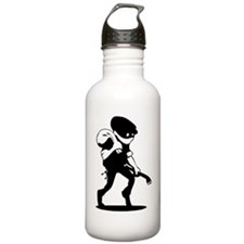 Burglar Water Bottle