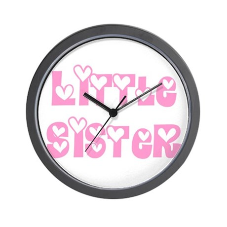 Little Sister Wall Clock