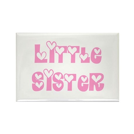 Little Sister Rectangle Magnet (10 pack)