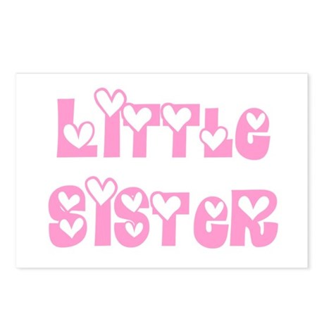 Little Sister Postcards (Package of 8)