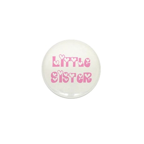 Little Sister Mini Button (10 pack)