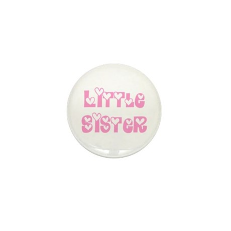 Little Sister Mini Button