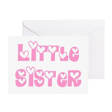 Little Sister Greeting Cards (Pk of 10)