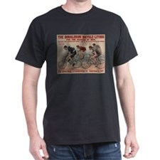 DONALDSON BICYCLE dark t-shirt