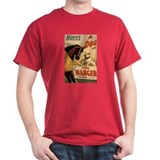 DOG IN THE MANGER dark t-shirt