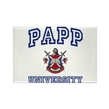 PAPP University Rectangle Magnet