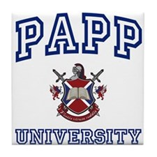 PAPP University Tile Coaster