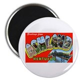 "Ashland Kentucky Greetings 2.25"" Magnet (10 pack)"