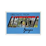 Augusta Georgia Greetings Rectangle Magnet