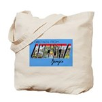 Augusta Georgia Greetings Tote Bag