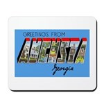 Augusta Georgia Greetings Mousepad