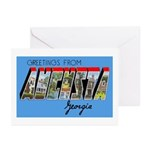 Augusta Georgia Greetings Greeting Cards (Package
