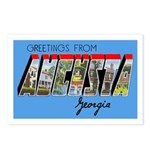Augusta Georgia Greetings Postcards (Package of 8)
