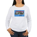 Augusta Georgia Greetings Women's Long Sleeve T-Sh