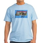 Augusta Georgia Greetings Light T-Shirt