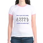 Dance your cares away Jr. Ringer T-Shirt