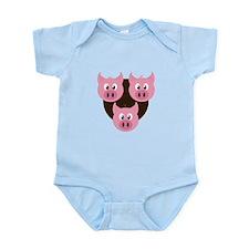 Three Little Pigs Body Suit