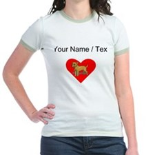 Custom Chihuahua Heart T-Shirt