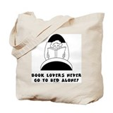 Book Lovers Bed-Female<br> Tote Bag