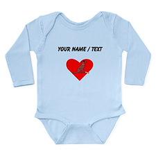 Custom Chesapeake Bay Retriever Heart Body Suit
