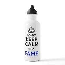 Funny Fame Water Bottle