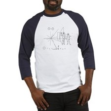 Pioneer 10 Greetings Baseball Jersey Space gift