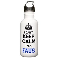 Cute Fau Water Bottle