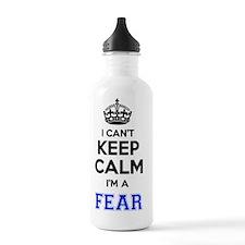 Unique Calm fear Water Bottle