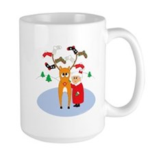 Rudolf's Toasty Christmas! Mug