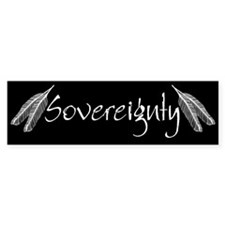 Black Sovereignty Bumper Bumper Sticker